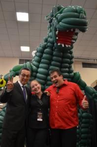 2500 Ballon Godzillaa