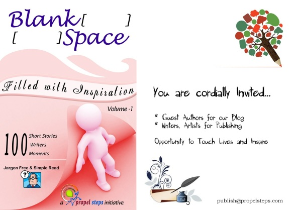 Blank Space invite