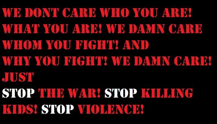 PROPEL STEPS | STOP WAR! KILLING KIDS! VIOLENCE! #GAZA