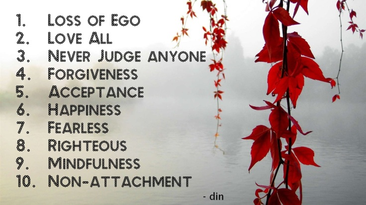 God 10 qualities