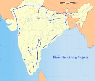 Rivers Inter-Link, Himalayan and Peninsular Components