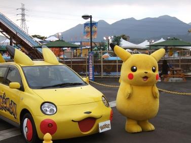 Poke mon car