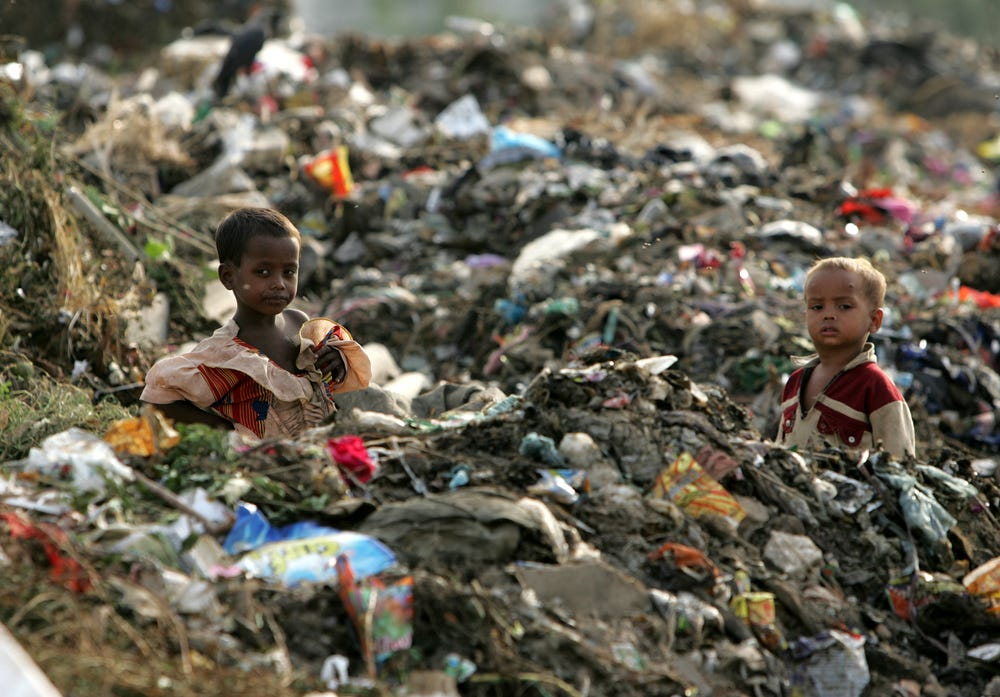 6 Pics for 6th Sense : Poor waste management system in India